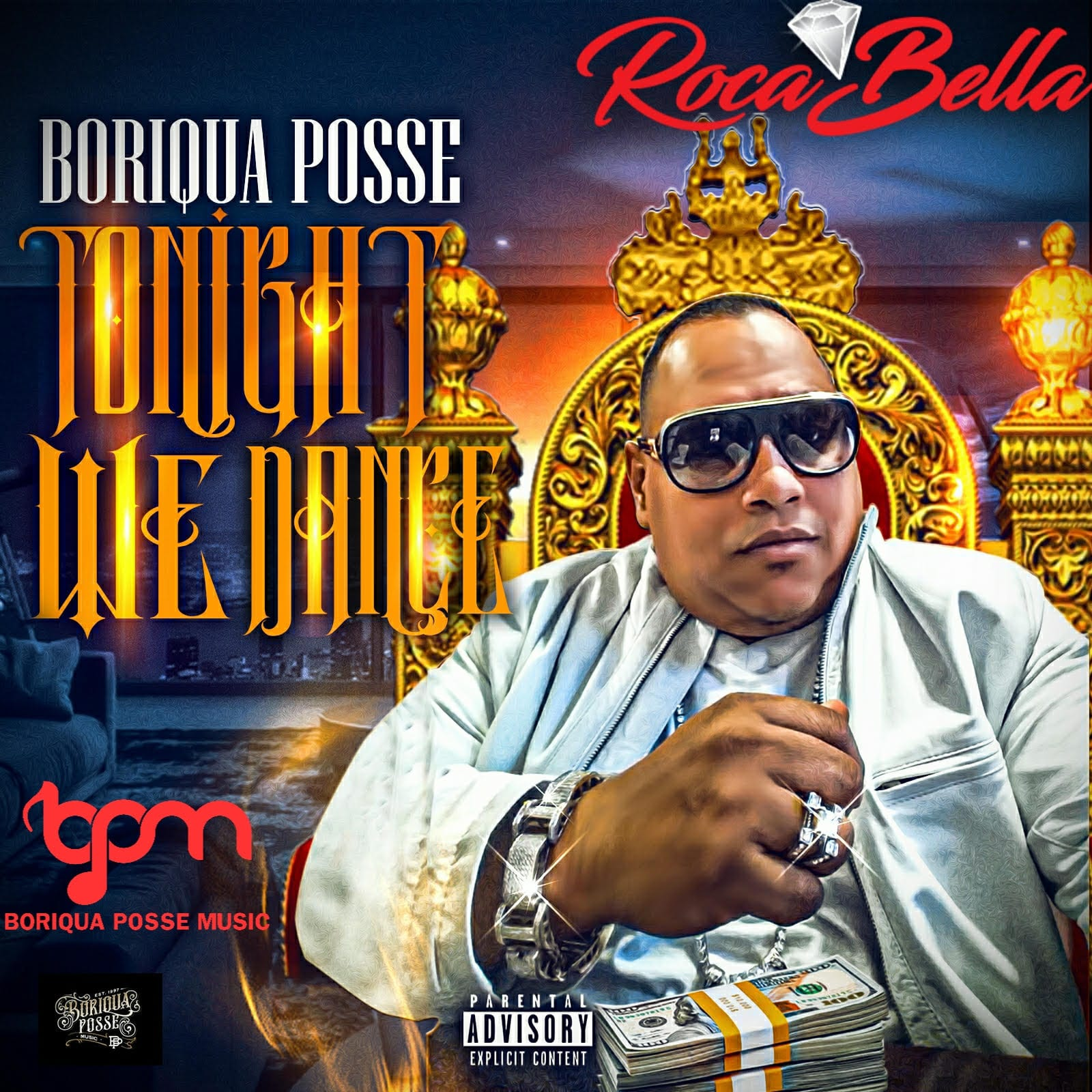 Boriqua Posse - Cure Cancer With Music Freestyle Artist