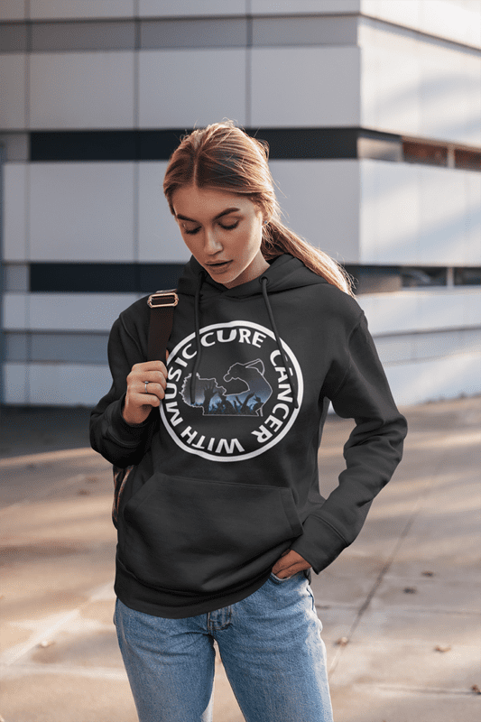 CureCancerWithMusic.org - Womens Hoody Sweater