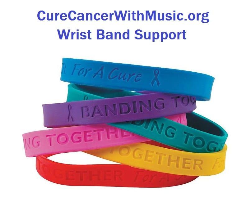Wrist Band Support - CureCancerWithMusic.org